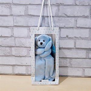 Naninha Buba Carinho Ursinho Azul