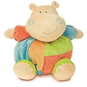 Pelúcia Hipopótamo Turminha Bolinha Buba