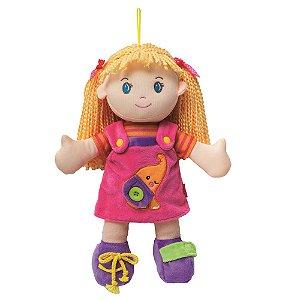 Boneca Buba Aprendendo a Vestir Girl