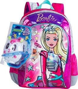 Mochila Barbie Aventura nas Estrelas Grande Sestini