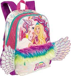 Mochila Barbie Dreamtopia com Luzes Sestini Grande