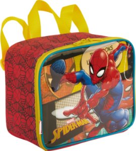Lancheira Spiderman Sestini 19M Pequena