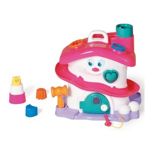 Brinquedo de Encaixe Activity House Tateti Girl - Sacola