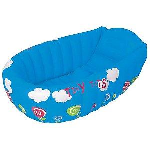 Banheira para Bebê Mor Azul Inflável