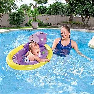 Boia Bichinhos com Fralda Mor Hipopótamo