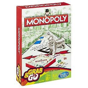 Jogo Monopoly Hasbro para Viagem