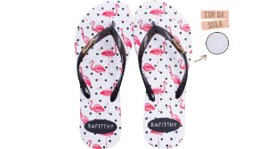 Chinelo Rafitthy Be Forever Flamingos Poa