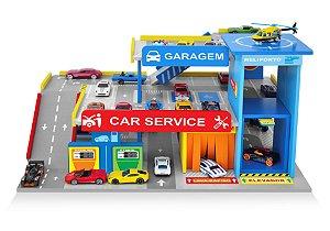 Brinquedo Postinho e Garagem - Car Service