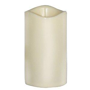 Vela LED à Pilha 15cm Plástico