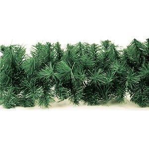 Festão Aramado Verde 20cm x 2m 120 Galhos