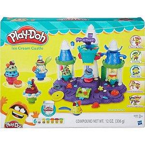 Massa de Modelar Play-Doh Castelo de Sorvete