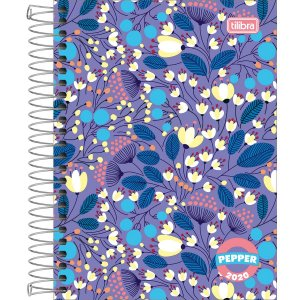 Agenda Tilibra Pepper Feminina 2020 Capa Floral