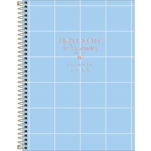Planner Tilibra Soho 2020 Azul Quadrados Small Notes