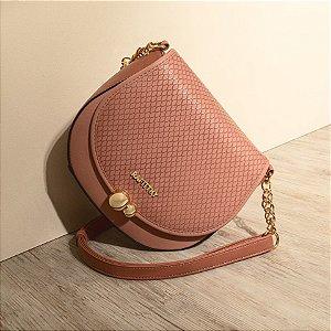 Bolsa Rafitthy Rosa Escuro 28.01152B PEARLS BALI / CASTANHA