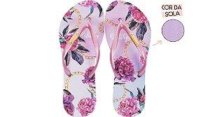 Chinelo Feminino Rafitthy Flowers Tie Dye 222.01702B
