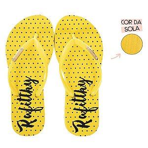 Chinelo Rafitthy Poá Amarelo 226.01705_17