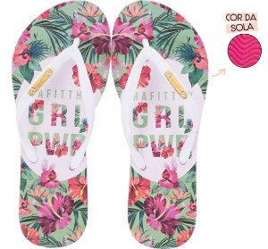 Chinelo Rafitthy Floral GRL PWR
