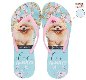 Chinelo Rafitthy Cachorrinho Lulu Love Always