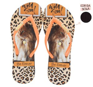 Chinelo Rafitthy Gato Cat Wild Soul