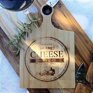 Tábua de Corte Bambu Gourmet Cheese