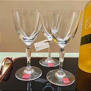 Jogo de Taças para Vinho Branco Cristal Bohemia Alexandra/Asio 185ml 6 peças