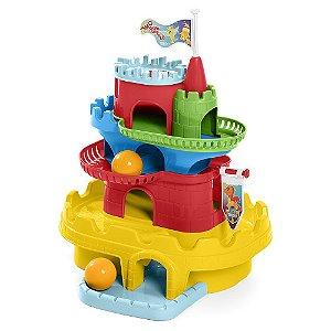 Brinquedo Educativo Monta Castelo Tateti