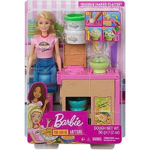Barbie Playset Máquina de Macarrão Mattel