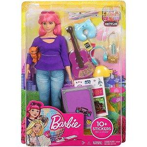 Barbie Dreamhouse Adventures - Daisy e Acessórios De Viagem