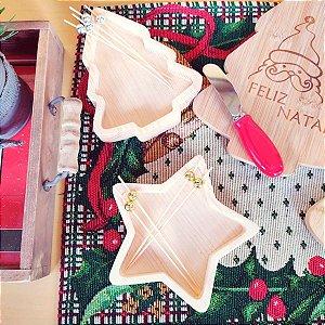 Petisqueira de Natal Estrela e Pinheirinho