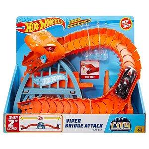Pista Hot Wheels City Ponte de Cobra Mattel