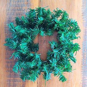 Guirlanda de Natal Festão Verde 25cm 60 Galhos