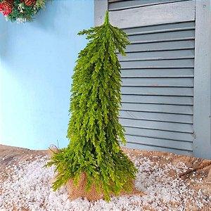 Mini Árvore de Natal de Mesa Pinheiro Verde 38cm