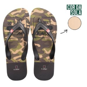 Chinelo Masculino RR Army GO SKATE