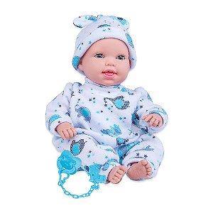Boneca Cotiplás Miyo Menino com Sons de Bebê