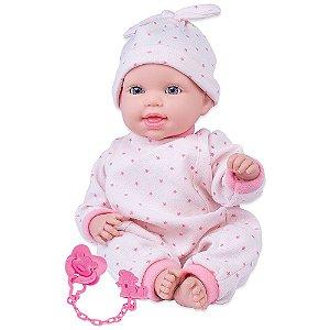 Boneca Cotiplás Miyo Menina com Sons de Bebê