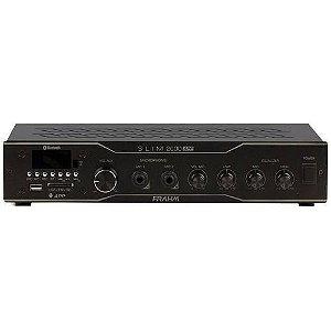 Amplificador Slim 2000 APP Frahm 120w  Bluetooth USB Bivolt