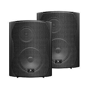 Par Caixa Acústica Para Som Ambiente Ps6 Plus preta - frahm