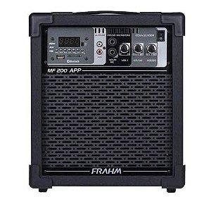 Caixa de Som Multiuso Amplificada Frahm MF200 App 60 Rms