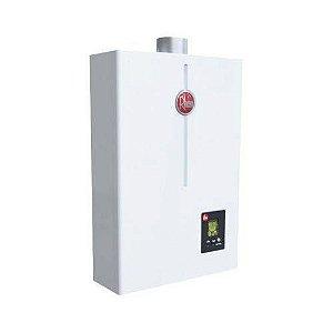Aquecedor Rheem Digital A Gás 26 Litros Branco Glp