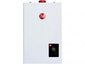 Aquecedor de água a gás Rheem Digital 12 Litros/min GLP Bivolt