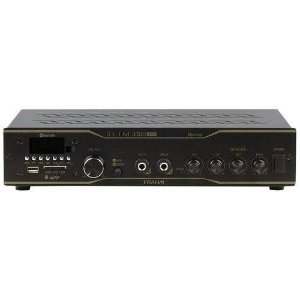 Amplificador Receiver SLIM 3000APP Optical 200W Rms USB SD FM Frahm