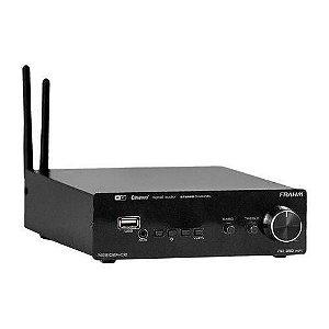 Amplificador Receiver para Som Ambiente Frahm RD160 WIFI
