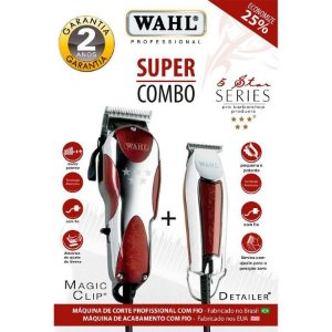 Wahl Super Combo Magic Clip 220v + Detailer Bivolt
