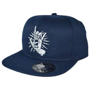 BONÉ SANTA CRUZ ROCK TATTOED HAND SNAPBACK