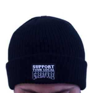 TOUCA CREATURE SUPPORT BEANIE BLACK
