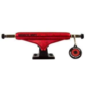 TRUCK INDEPENDENT LUAN OLIVEIRA RED MATTE / BLACK 139MM