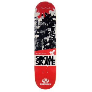 "SHAPE DROP DEAD 8,0"" SOCIAL SKATE TIA LEILA"