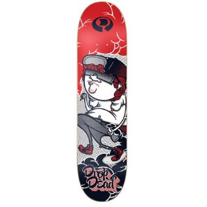 "SHAPE DROP DEAD 7,75"" CRIME CREW RED"