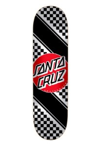 SHAPE SANTA CRUZ CHECK STRIPE RED