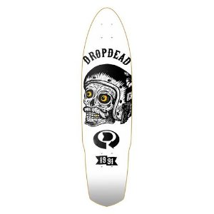 SHAPE LONG DROP DEAD SEMI 38 SKULL SKECTHY FLEX ONE